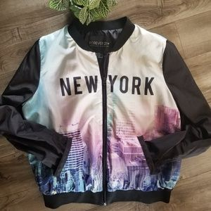 Forever 21+ New York jacket size 0X